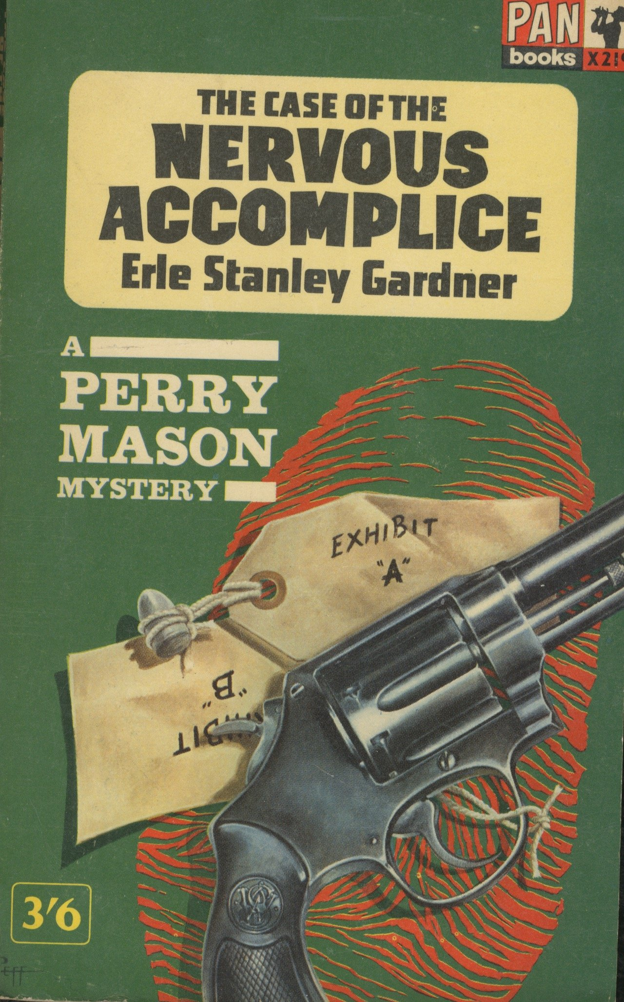 The Case of The Nervous Accomplice A Perry Mason Mystery: Amazon ...