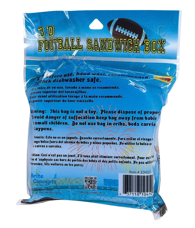Amazon.com: Jacent Fun 3D Sports Sandwich Box Food Storage ...