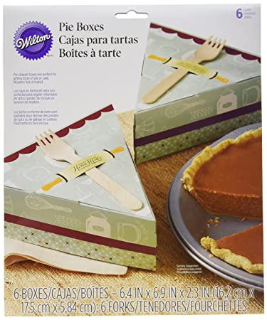 Wilton Pie Slice Gift Box, 6-Count