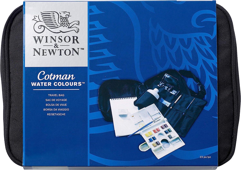 Winsor & Newton - Acuarela Cotman - Bolsa de viaje, caja 12 medio ...