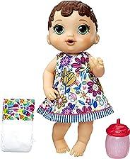 Boneca Baby Alive Hora do Xixi Hasbro Morena