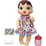 Brinquedo Boneca Baby Alive Hora do Xixi Morena - Com roupinha removível e acessórios - E0499 - Hasbro