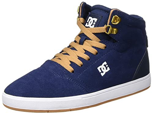 DC Shoes Spartan High WC WNT Zapatillas Hombre, Azul (Navy), 41 EU (7.5 UK)