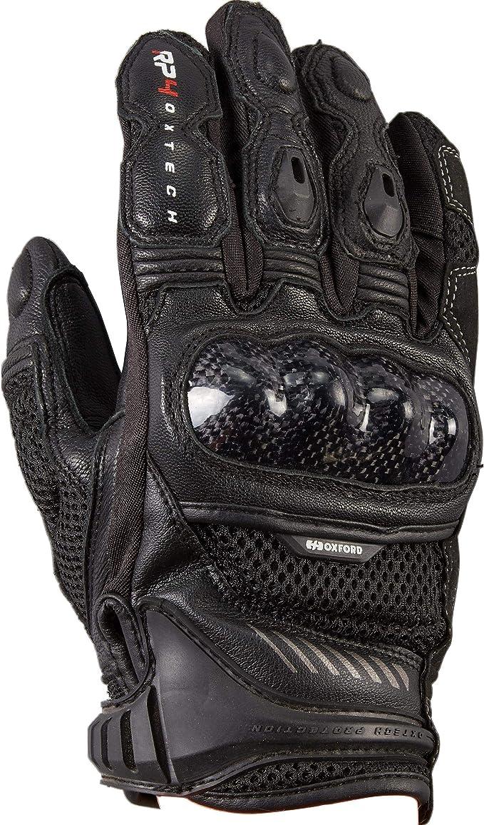 Oxford Motorradhandschuhe Kurz Motorrad Handschuh Rp 4 Sporthandschuh Kurz Herren Sportler Ganzjährig Leder Textil Bekleidung
