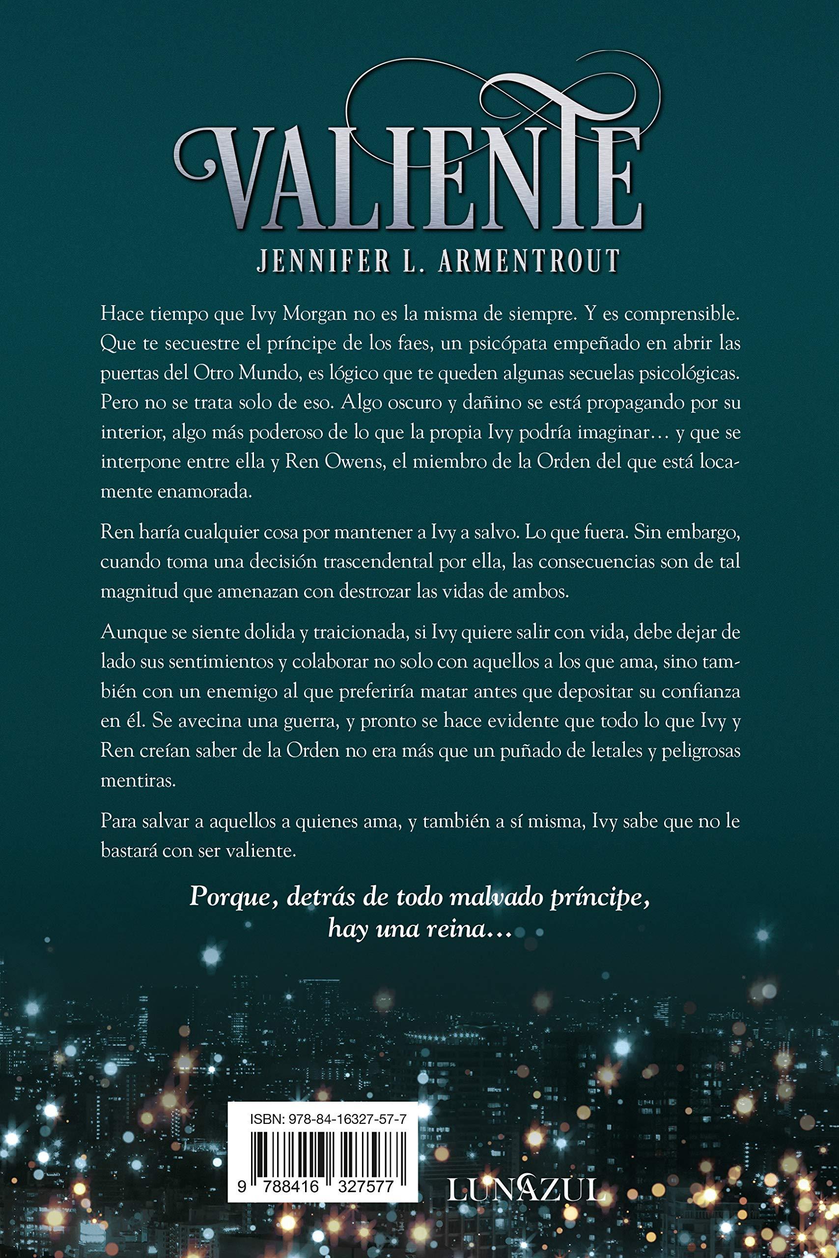 Valiente (Titania luna azul): Amazon.es: ARMENTROUT, JENNIFER ...