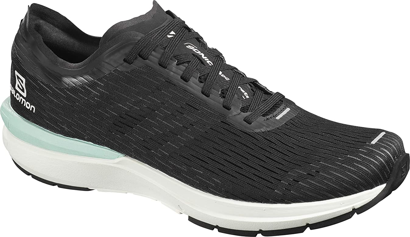 SALOMON Shoes Sonic, Zapatillas de Running para Hombre, Negro (Black/White/Quiet Shade), 40 EU: Amazon.es: Zapatos y complementos