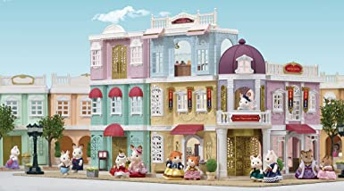 60b97fe9 Sylvanian Families 6022 Grand Department Store Gift Playset, New Town  Series, One Size: Sylvanian Families: Amazon.co.uk: Toys & Games