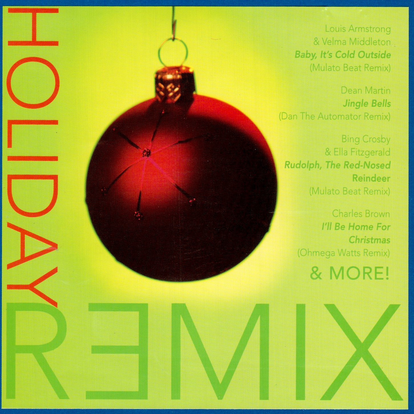 Holiday Remix CD