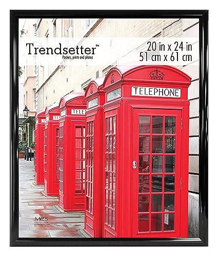 Amazoncom Mcs Trendsetter 20x24 Inch Poster Frame Black 65679