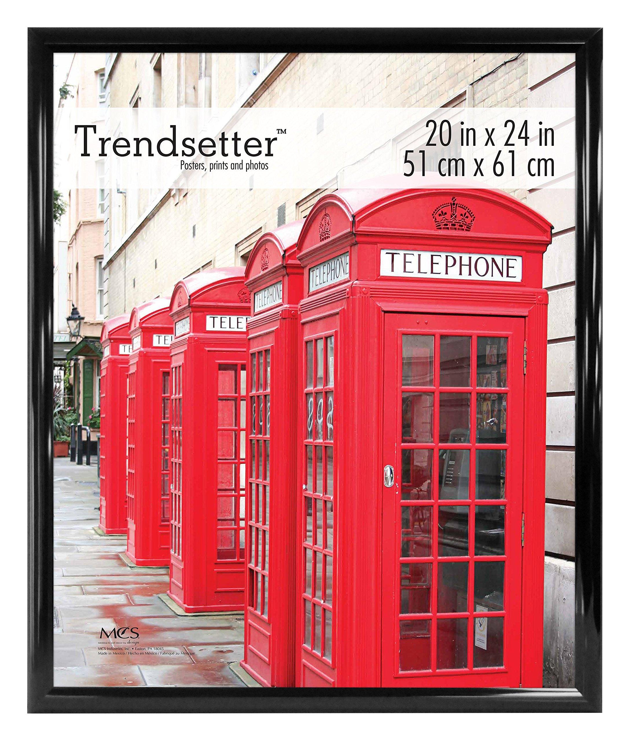 MCS Trendsetter 20x24 Inch Poster Frame, Black (65679) by MCS