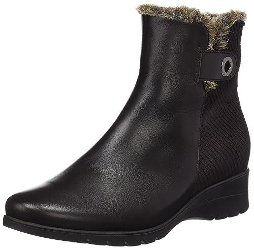 Piesanto 175974, Botines para Mujer, Marrón (Caoba), 36 EU: Amazon.es: Zapatos y complementos