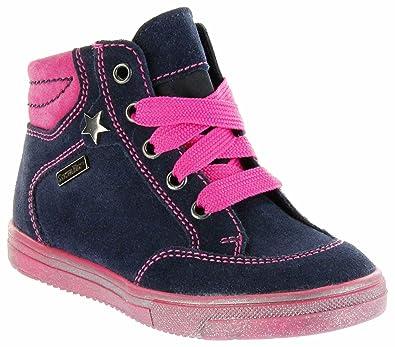 the best attitude 42217 1a332 Richter Kinder Halbschuhe Sneaker blau Velour Sympatex ...