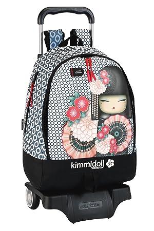 Kimmidoll - Mochila 32 cm con ruedas (Safta 621248160): Amazon.es: Equipaje