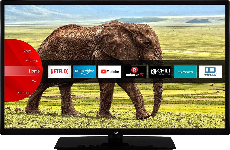 Jvc Lt 32vf5955 32 Zoll Fernseher Smart Tv Inkl Prime Video Netflix Youtube Full Hd Bluetooth Works With Alexa Triple Tuner Modelljahr 2021 Heimkino Tv Video