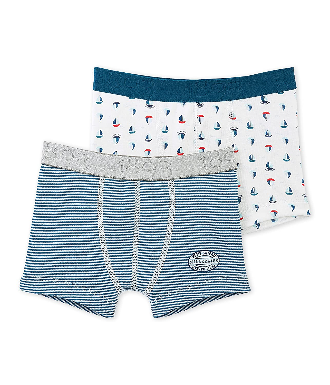 3a0a707174 Toddler Kids Petit Bateau Printed Swim Shorts Multicolor-4 Years