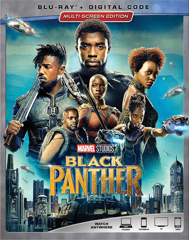 Black Panther [Blu-ray] (Bilingual) Chadwick Boseman Michael B. Jordan Lupita Nyong'o Danai Gurira