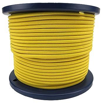 4mm Grey Elastic Bungee Rope Shock Cord Tie Down x 100 Metre Reel