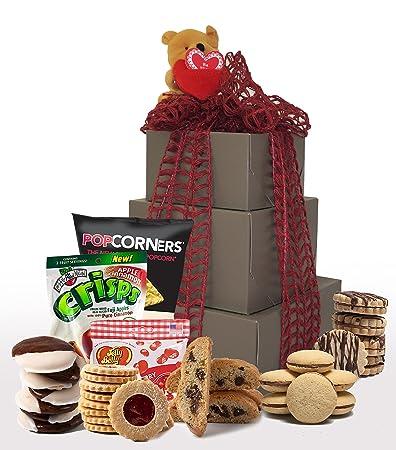 Amazon xoxo kosher valentines day gluten free gift basket kosher valentines day gluten free gift basket gluten free valentine treats valentine negle Images