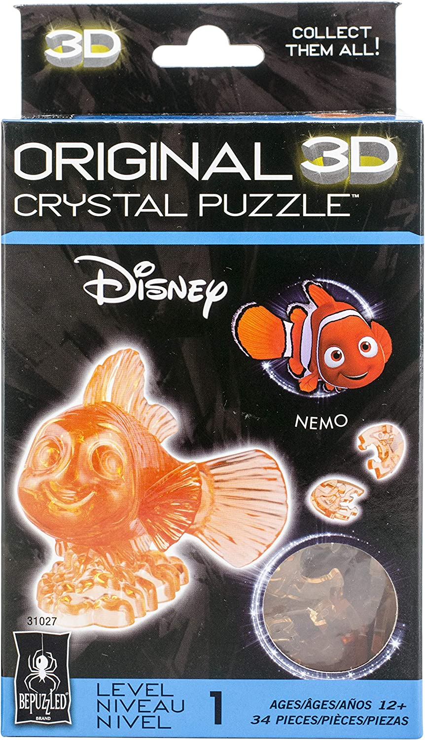 Games 3 D Licensed Crystal Puzzle Ariel