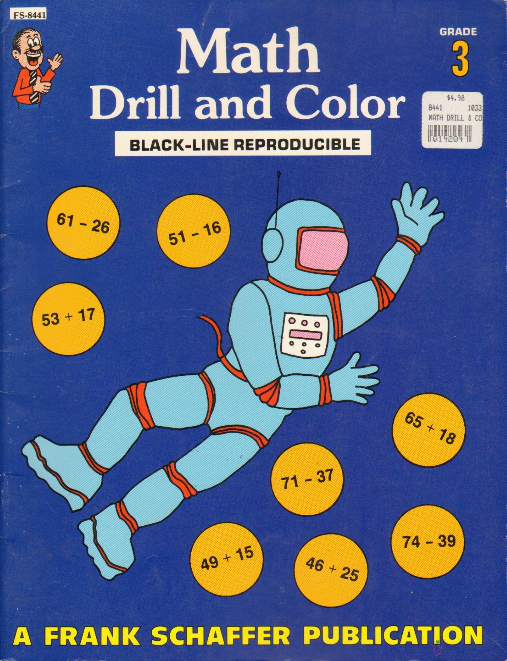 Math: Drill and color, duplicating masters: Karen Nakano, Frank ...