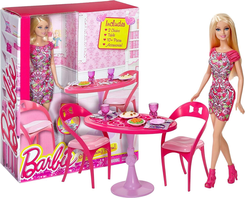 Super Barbie 12 Glam Dining Room Set Barbie Home Furnishing Set Download Free Architecture Designs Rallybritishbridgeorg