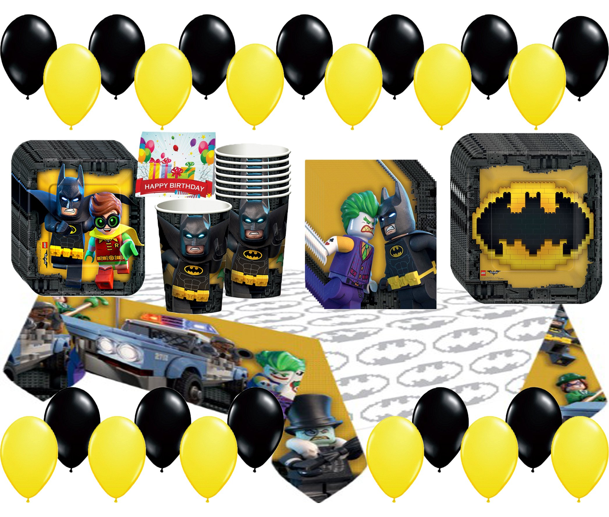 LEGO Batman Movie Deluxe Party Pack Bundle