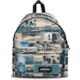 Eastpak Padded Pak'R Zaino, 40 cm, 24 L, Multicolore (Sky Filter)