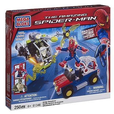 Mega Bloks The Amazing Spider-Man Bridge Showdown (91346): Toys & Games