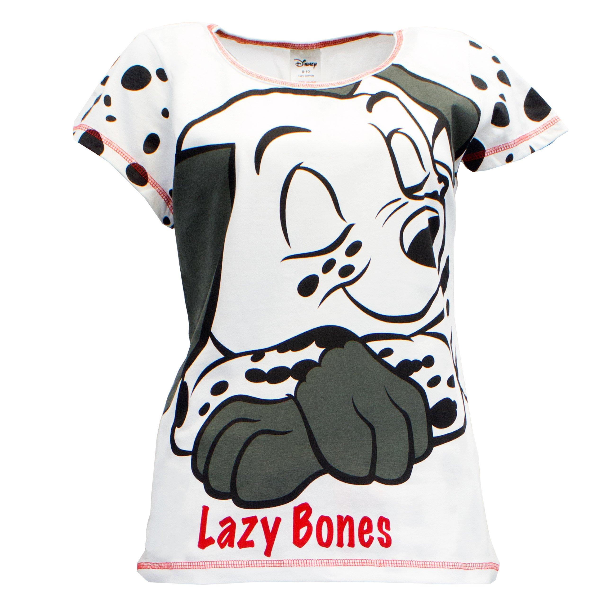 101 Dalmatians Womens' Disney 101 Dalmatians Pajamas White Size Small by Disney (Image #2)