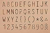 Walnut Hollow Leather Brander & Stencil Set