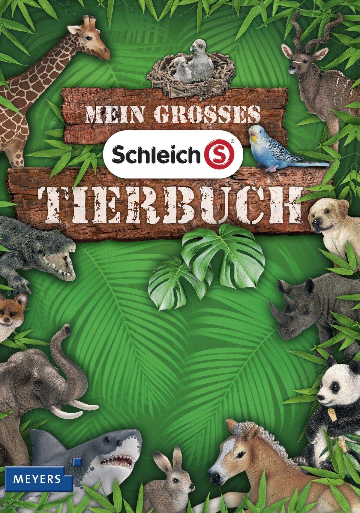Mein großes Schleich-Tierbuch: Mit exklusiver Schleich-Tierfigur Tigerjunges