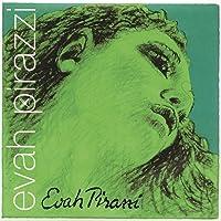 Pirastro Evah Pirazzi 1/2-3/4 Violin String Set - Medium Gauge - Steel Ball-End E