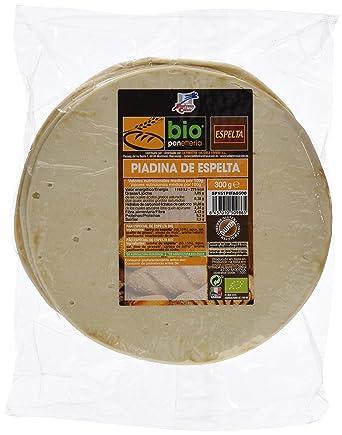 La Finestra Sul Cielo Piadina de Espelta Elaborada - 6 Paquetes de 300 gr - Total