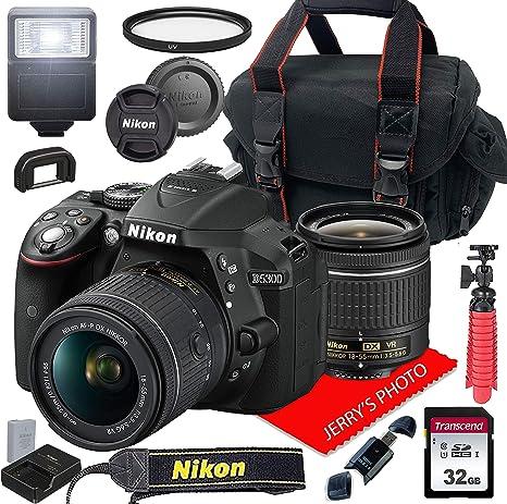 Nikon D5300 con AF-P DX NIKKOR 18-55 mm f/3.5-5.6G VR + Funda + ...