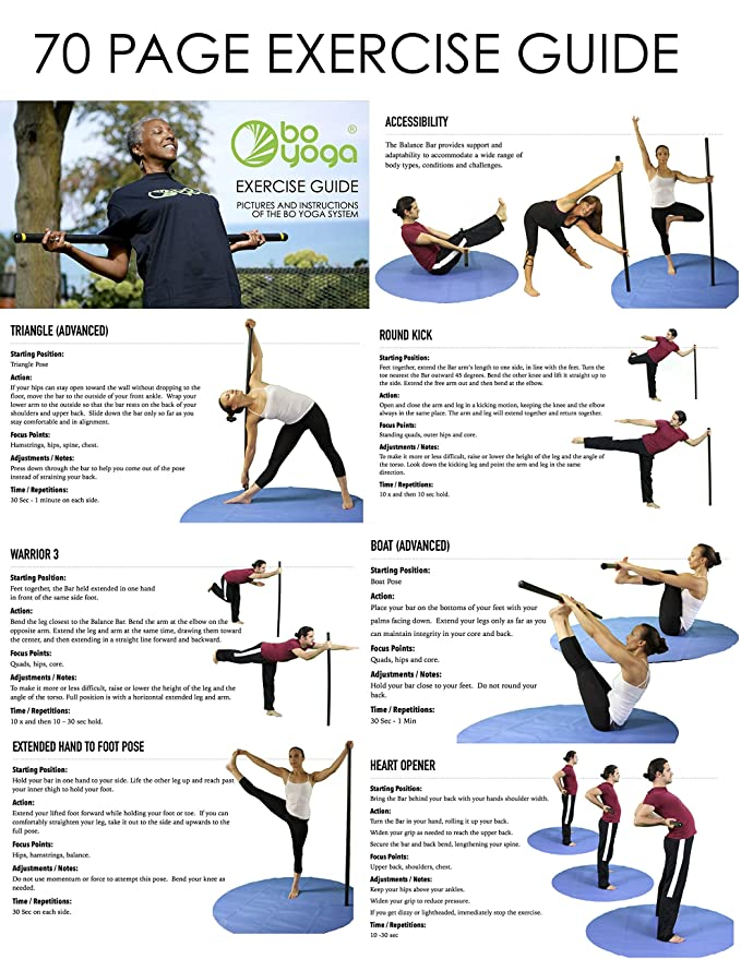 Amazon.com : Bo Yoga Beginner Package : Sports & Outdoors