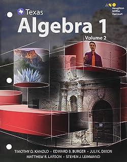Texas) Algebra 1 (Teacher Edition with Solutions Key) Part 1