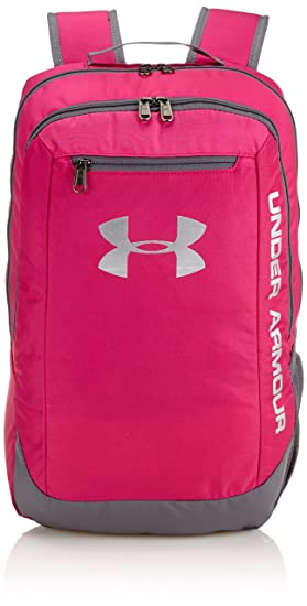 Under Armour Ua Hustle Backpack Ldwr, Mochila para Hombre, Rosa (Tropic Pink), 45 x 30 x 20 cm, 24 Liter: Amazon.es: Deportes y aire libre