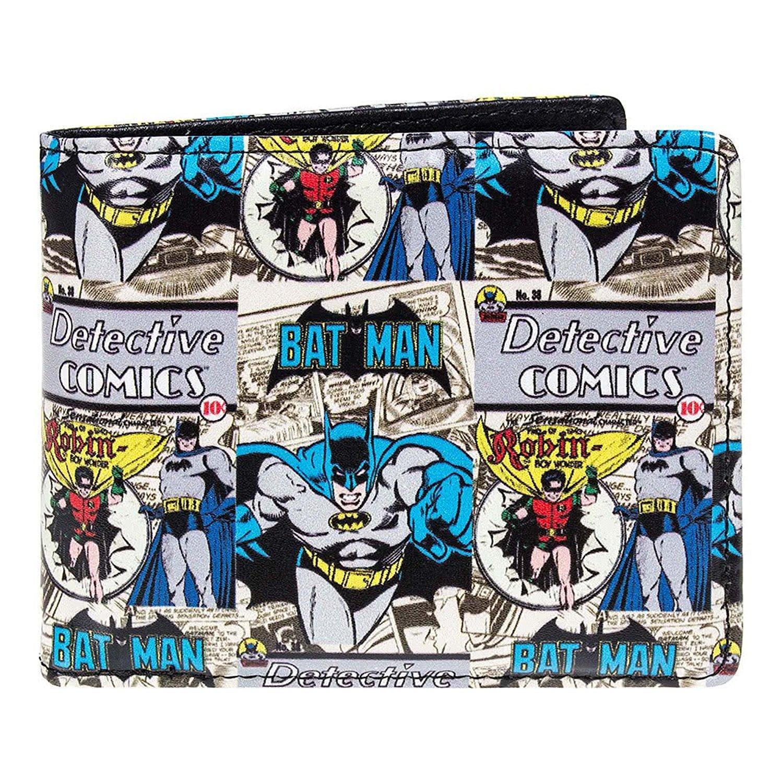 DC Comics Batman Cartera - Bats Comic se envía en una caja de chapa de ansprechenden: Amazon.es: Equipaje