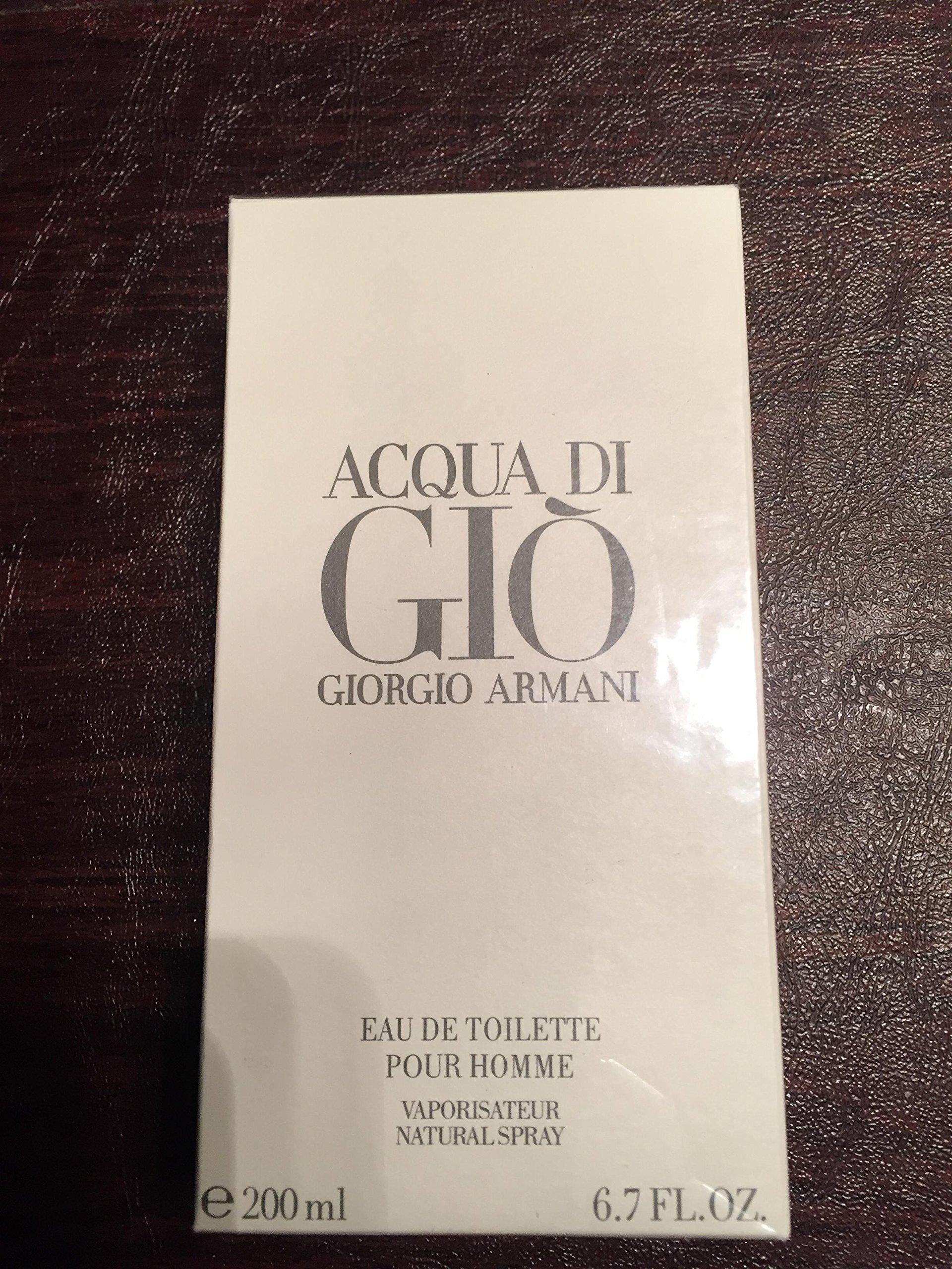 Acqua Di Gio 6.7 Fl. Oz. Eau De Toilette Spray Men