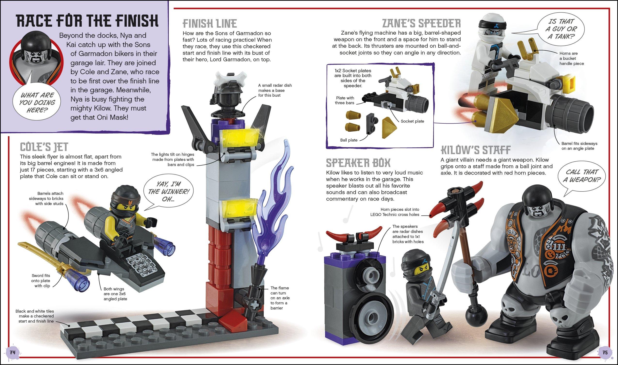 Lego Ninjago: Build Your Own Adventure: Greatest Ninja ...