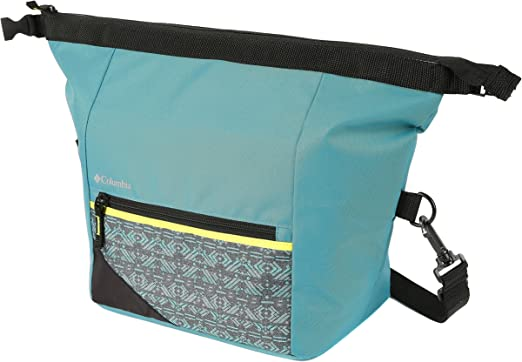 Columbia Cascades Explorer Roll Top almuerzo Pack, negro: Amazon ...