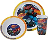 Blaze Racing Tumbler Bowl and Plate Set Blue Set of 3  sc 1 st  Amazon UK & Disney Group 1/2/3 High Back Booster (Monsters Inc): Amazon.co.uk: Baby