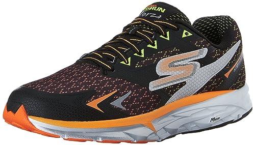 Skechersgo Run Forza - Zapatillas de Running Hombre, Color Negro, Talla 43: Amazon.es: Zapatos y complementos