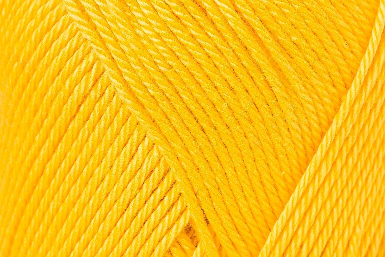 Schachenmayr Ovillo Hilo de algodón para Punto y Ganchillo Catania 9801210, algodón, Sol, 11,5 x 5,2 x 6 cm: Amazon.es: Hogar