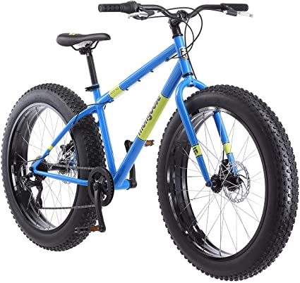 26 Inch Commuter Bike 21-Speed Rear Deraileur,Mens Fat Tire Mountain Bike,Wide Knobby Tires,Steel Frame,Front and Rear Brakes,Lightweight,Bicycle USA in Stock