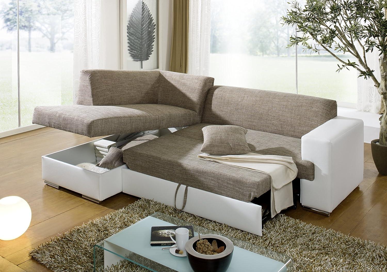 Sofa Oliwier 183x255cm Mit Schlaffunktion Bettkasten Couch