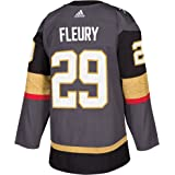 Marc-Andre Fleury Vegas Golden Knights Adidas NHL Men s Authentic Grey  Jersey 5aace29bc