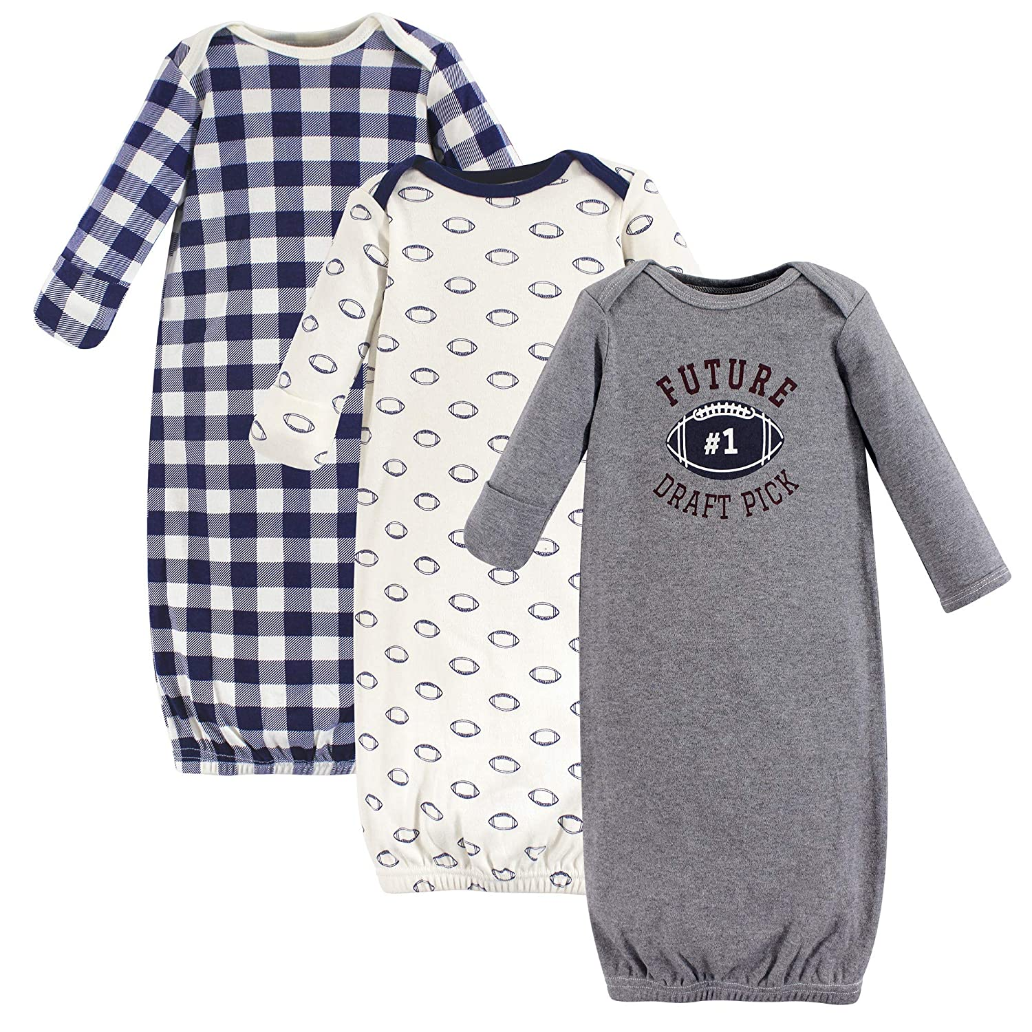 Hudson Baby Unisex Baby Cotton Gowns