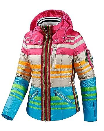 Neupreis ungeschlagen x mehr Fotos Skijacken damen bunt – Stilvolle Jacken