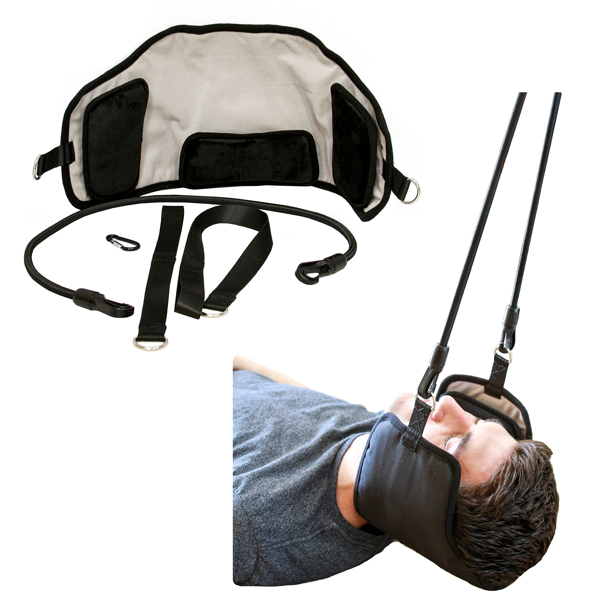 Neck Cradle for Neck Pain Relief - Relaxing Cervical Traction Device Provides Neck Pain Relief